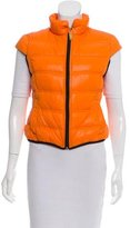 Galliano Down Zip-Up Vest w/ Tags