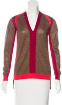 VPL Colorblock V-Neck Sweater w/ Tags
