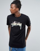 Stussy T-shirt With Fade Logo