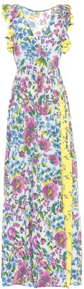 Baum und Pferdgarten Exclusive to Mytheresa Aiza silk-blend crepe dress