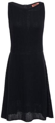 Missoni Crochet-knit Wool-blend Mini Dress