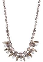 Sorrelli Freshwater Pearl Pave Necklace
