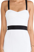 Milly Bustier Strap Dress