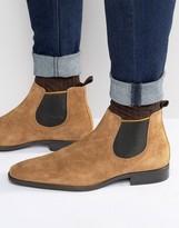 Dune Marlown Suede Chelsea Boots