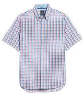 Tailorbyrd Scott Regular Fit Plaid Sport Shirt