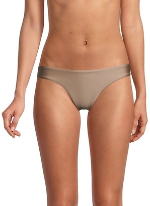 Pilyq Basic Ruched-Back Bikini Bottom