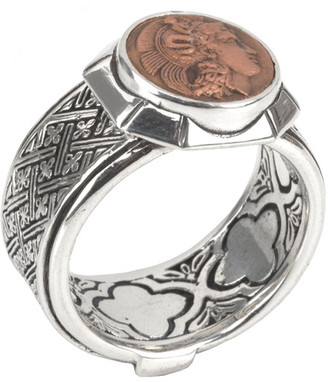 Konstantino Silver Ring