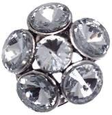 AJ Fashion Jewellery MERCEDE tone Crystal Scarf Clip