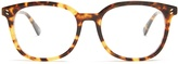 Stella McCartney D-frame acetate glasses