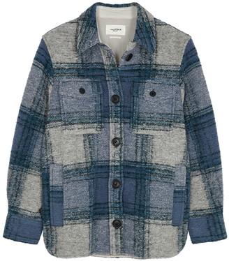 Etoile Isabel Marant Gastoni checked wool-blend jacket