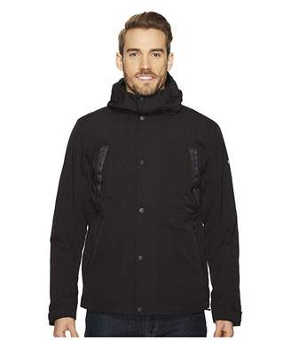 The North Face Stetler Insulated Rain Jacket (TNF Black) Men's Coat