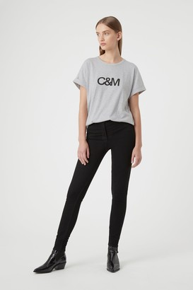 Camilla And Marc Huntington Logo Slub Tee