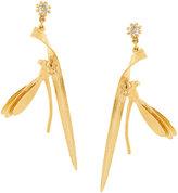 Alex Monroe damselfly earrings