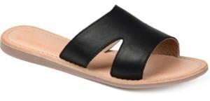 Journee Signature Women's Walker Sandals Women's Shoes