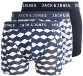 Jack & Jones Jjacgeo 3 Pack Shorts Light Grey Melange