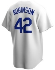 Nike Men's Los Angeles Dodgers Cooperstown Player Replica Jersey - Jackie Robinson