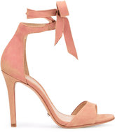 Schutz tied two strap sandals - women - Leather/Polyester - 37