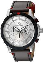 Rip Curl Men's A2735-BEI Maverick Chrono Analog Display Analog Quartz Brown Watch