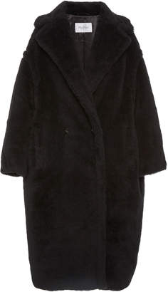 Max Mara Tedgirl Oversized Alpaca and Wool-Blend Coat