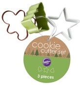 Wilton 3Pc Mini Cookie Cutter Set on Ring