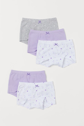 H&M 5-pack Boxer Briefs - Purple