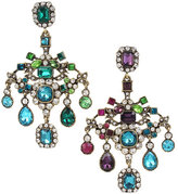 Betsey Johnson Mystic Baroque Chandelier Clip Earrings