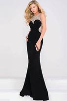 Jovani Jersey Embellished Neckline Prom Dress JVN45253