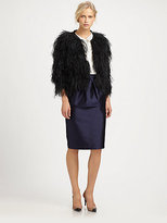 By Malene Birger Ostrich Feathers Jacket