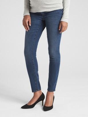 Gap Maternity Soft Wear Inset Panel True Skinny Jeans