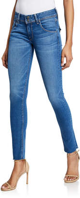 Hudson Collin Mid-Rise Skinny Ankle Jeans