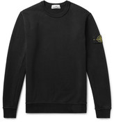 Stone Island - Loopback Cotton-jersey Sweatshirt