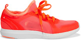 adidas by Stella McCartney Mesh and rubber sneakers