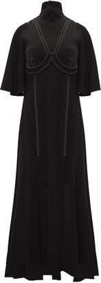 Ellery Noble Funnel Neck Dress