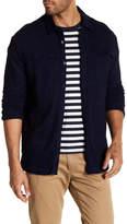 AG Jeans Long Sleeve Stretch Denim Collar Shirt