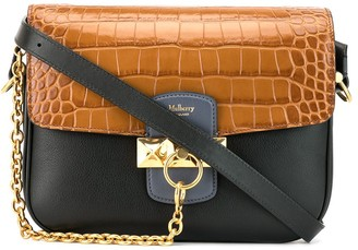 Mulberry Keeley croc-effect satchel