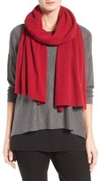 Eileen Fisher Recycled Cashmere & Lambswool Scarf