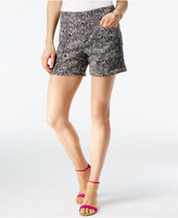 INC International Concepts Snake-Embossed Shorts, Created for Macy's