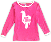 Urban Smalls Fuchsia 'Como Se Llama' Boatneck Top - Toddler & Girls