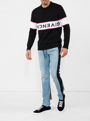 Givenchy upside down logo sweater black