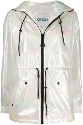 Kenzo shimmer-effect jacket