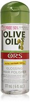 Organic Root Stimulator Anti-frizz Olive Oil Glossing Polisher By for Unisex, 6 Ounce