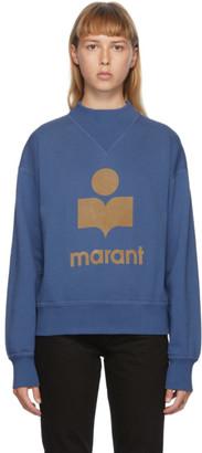 Etoile Isabel Marant Blue Moby Sweatshirt