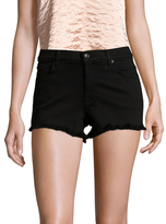 7 For All Mankind Squiggle Cut Off Shorts