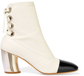 Proenza Schouler Leather Ankle Boots - White