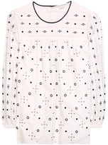 Marc Jacobs Embellished Cotton Top