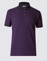 Limited Edition Slim Fit Textured Polo Shirt
