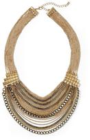 Juicy Couture Hive & Honey Multi Chain Statement Necklace