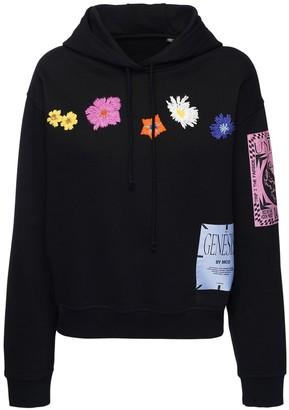 McQ Genesis Ii Embroidered Sweatshirt Hoodie