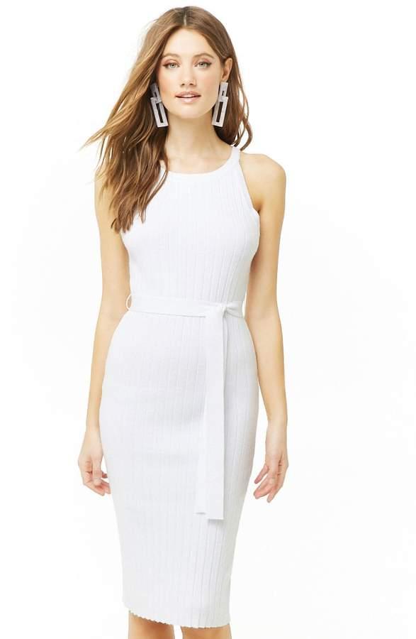 Forever 21 Ribbed Midi Dress