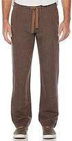 Perry Ellis Linen Drawstring Pants